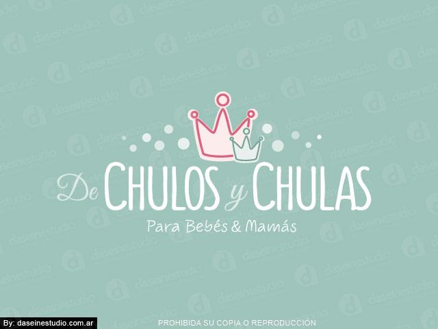 Diseño de Logotipo  Tienda Maternal Rosario - Argentina | Fondo verde: normalización de logotipo.