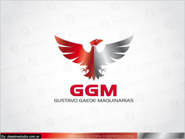 Diseño de Logotipo GGM Maquinaria Agrícola - Santa Fe. Versión Primaria