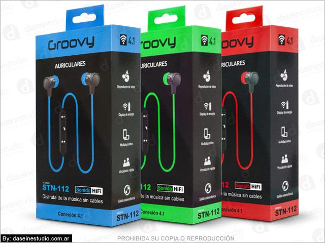 Línea de packaging para auriculares Rosario - modelo 3