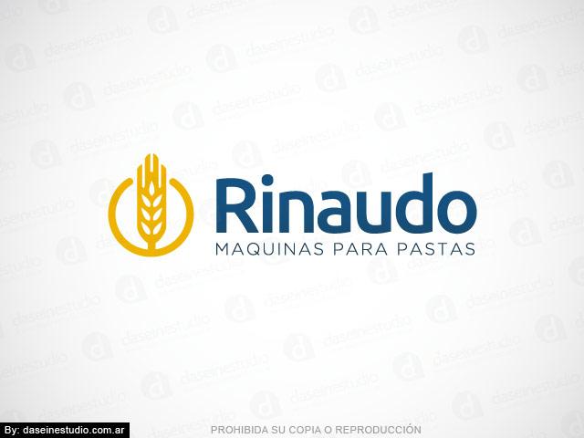 Diseño de logotipo para Fábrica de Maquinas para Pastas Rosario - Aplicación de denominación