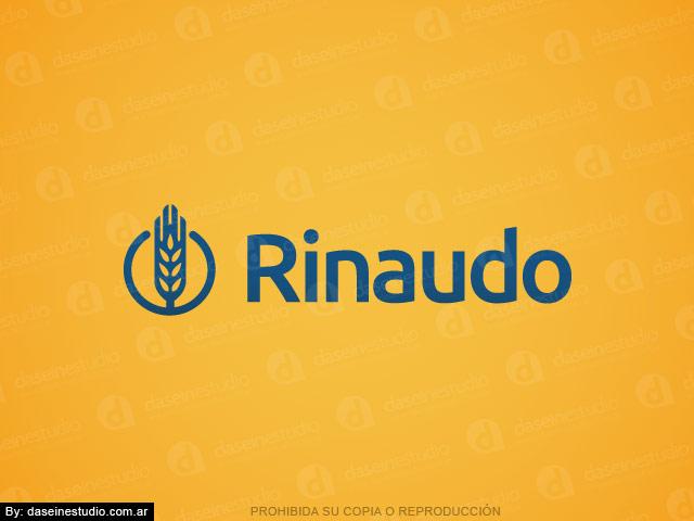 Diseño de logotipo para Fábrica de Maquinas para Pastas Rosario - Fondo amarillo