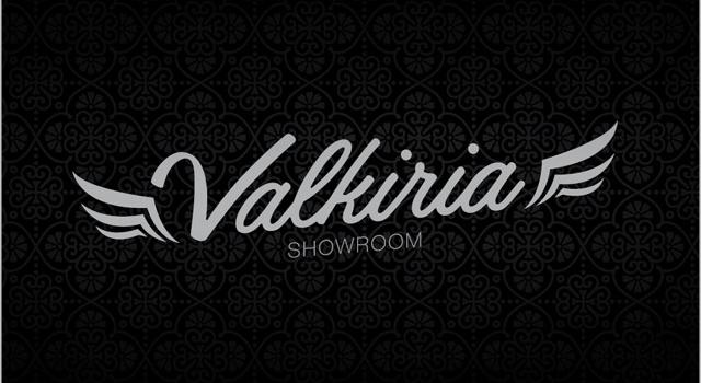 Diseño de logo showroom indumentaria femenina - Negro