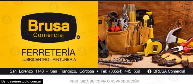 Diseño de Aviso para Revistas Ferretería San Francisco Córdoba Argentina