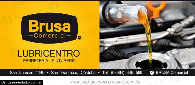 Diseño de Aviso para Revistas Lubricentro San Francisco Córdoba Argentina