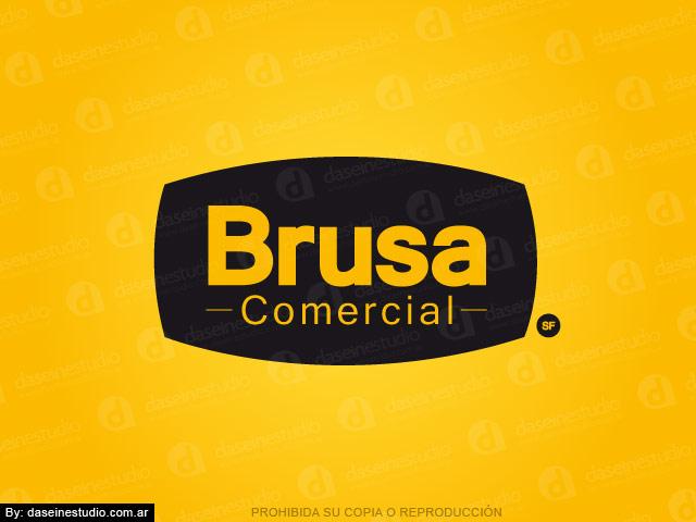 Diseño de Logotipo Ferretería San Francisco Córdoba Argentina - Fondo Amarillo - Normalización de logotipo