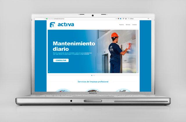 Diseño web Rosario - Servicios de limpieza para Empresas