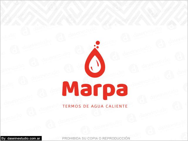 Diseño de logo Sistema Vending Termos de Agua Caliente - Rosario Argentina - Fondo Blanco