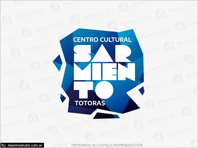 Diseño de Logotipo Centro Cultural - Fondo blanco