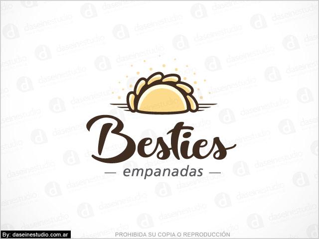 Diseño de logotipo Casa de Empanadas en Atlanta Georgia - Fondo blanco - Normalización de logotipo