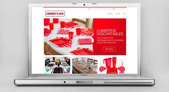 Diseño web Cotillón Mayorista