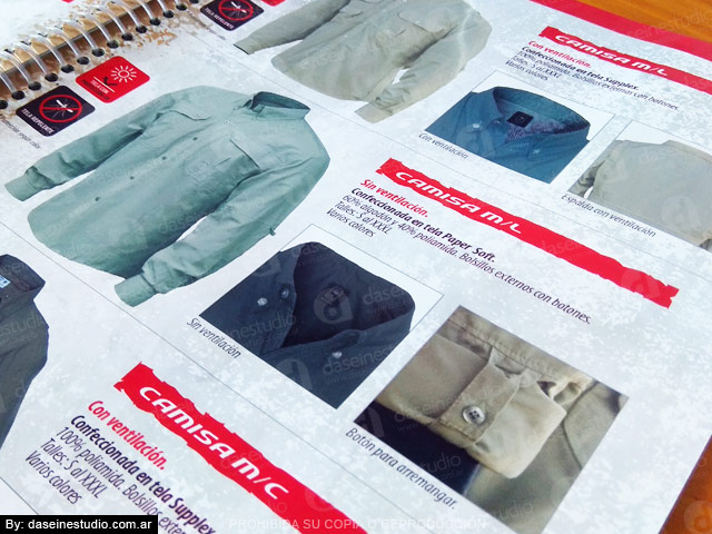 ZOOM Indumentaria outdoor: Camisas y chalecos