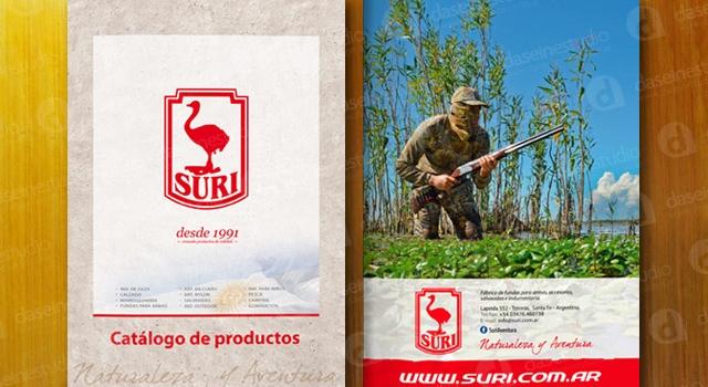 Diseño de Catálogo Indumentaria de Caza & Outdoor