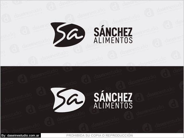 Diseño de logotipo & Branding Alimentos Envasados - Versiones Blanco y Negro