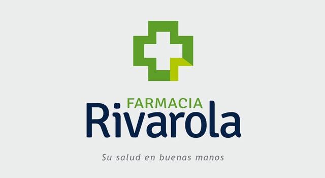 Diseño de logotipo Farmacia Rosario Argentina - fondo blanco