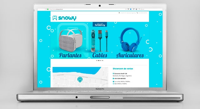 Diseño web Accesorios para Celulares