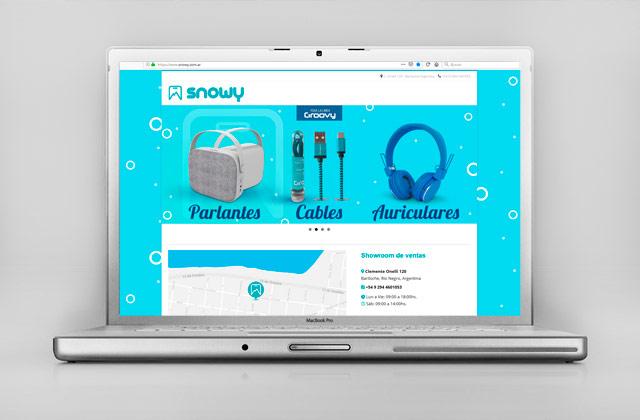 Diseño web Accesorios para Celulares - Bariloche Argentina