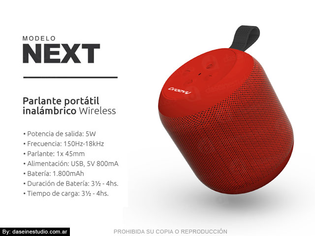 Packaging Modelo: Next - foto parlante