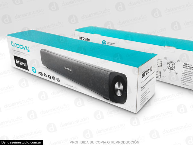 Packaging Modelo: BT2610 - Diseño packaging Frente y dorso