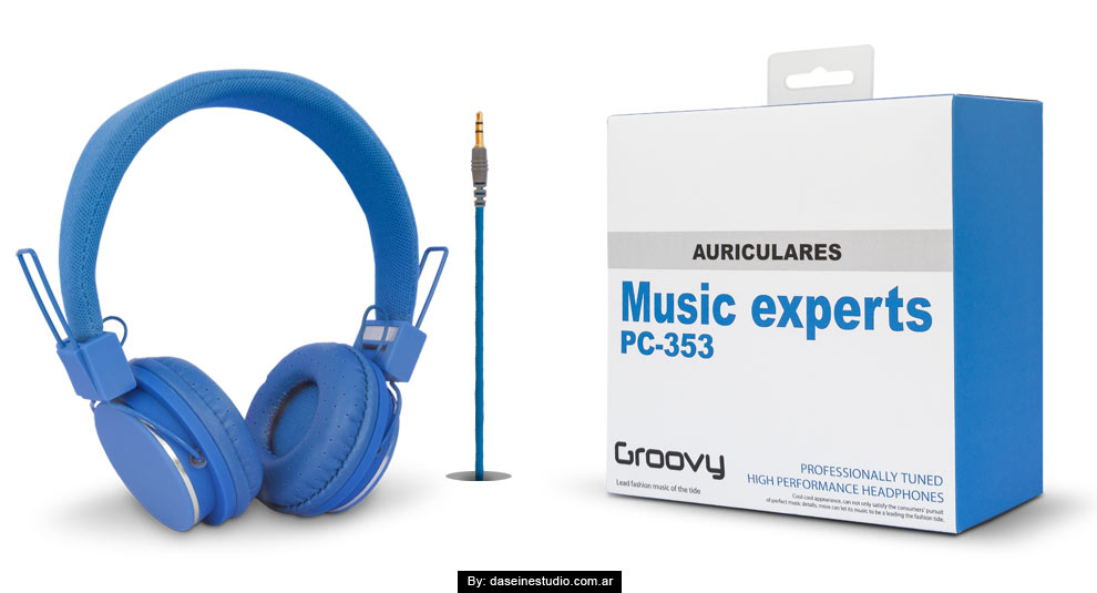 Diseño de Packaging para Auriculares