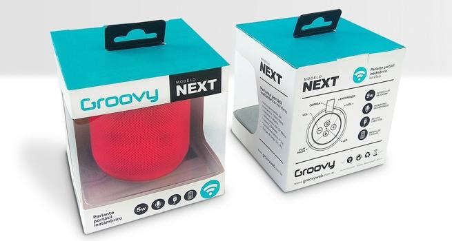Diseño Packaging Línea de Parlantes